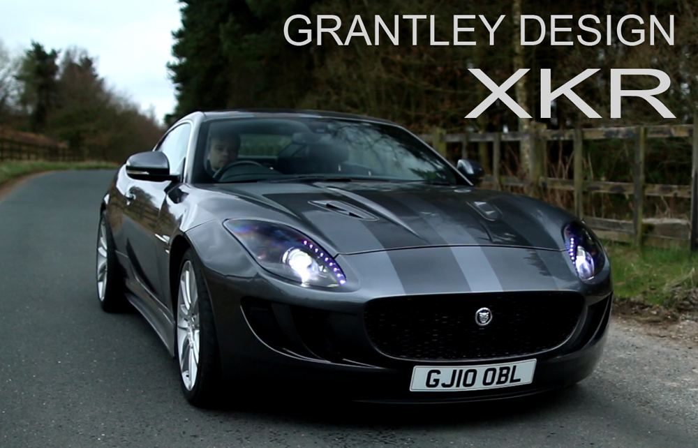 Jaguar XKR Body Styling Kit By Grantley Design