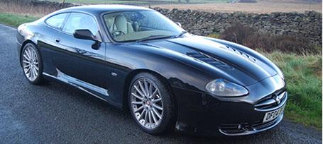 Jaguar XK body kit | bumpers | side skirts | Jaguar vents | Jaguar
